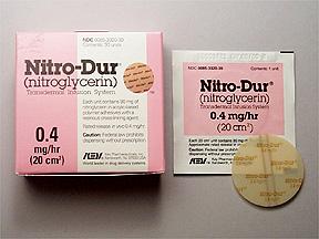 nitroglycerin patch 2