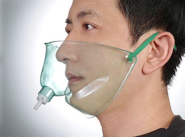 oxygen face tent mask
