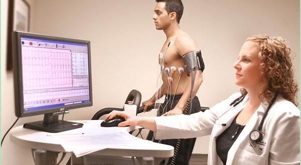 آموزش به بیمار در تست ورزش